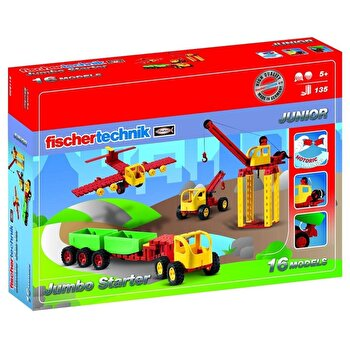 Set constructie Junior Jumbo Starter, 16 modele