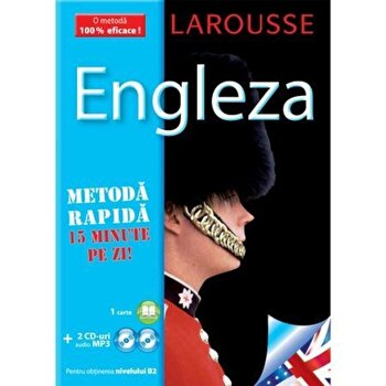 Engleza curs (carte2CD) – Larousse/Larousse de la Meteor Press