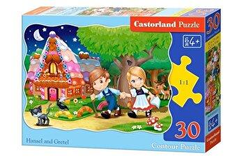 Puzzle Hansel si Gretel, 30 piese de la Castorland
