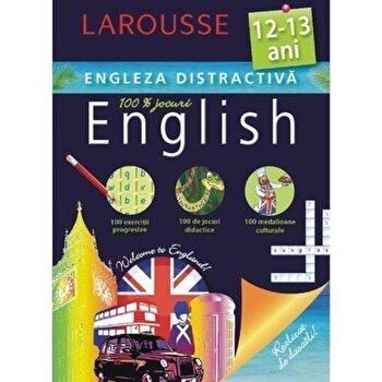 LAROUSSE. Engleza distractica 12-13 ani/*** de la Meteor Press
