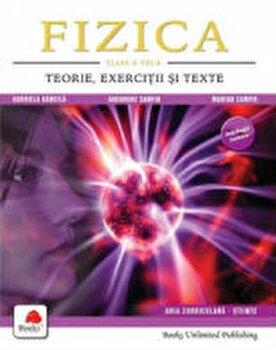Fizica. Teorie, exercitii si teste clasa a VIII-a/Marian Zamfir, Gabriela Bancila, Gheorghe Zamfir de la Prior & Books