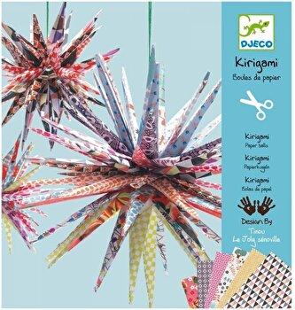 Kit kirigami – Mingi tepoase de la Djeco