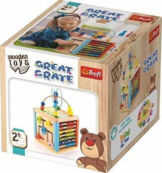Cub educativ din lemn