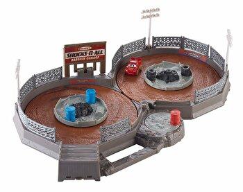 Set de joaca Disney Cars 3 Pista Crank & Crash Derby de la Mattel