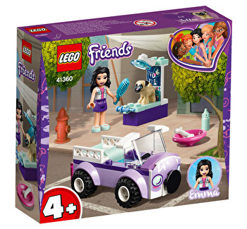 LEGO Friends, Clinica veterinara mobila a Emmei 41360 de la LEGO