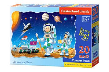 Puzzle maxi Pe o alta planeta, 20 piese de la Castorland