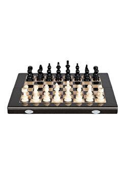 Joc Sah & Table, 44 cm, negru de la Medias