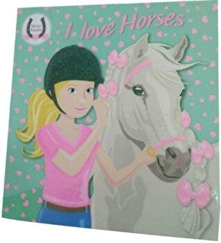 I love horses (verde)/*** de la Girasol