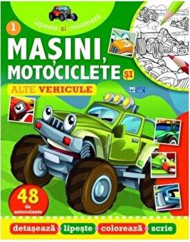 Lipeste si coloreaza masini, motociclete si alte vehicule/*** de la ARC