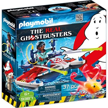 Playmobil Ghostbusters, Zeddemore si jetski de la Playmobil