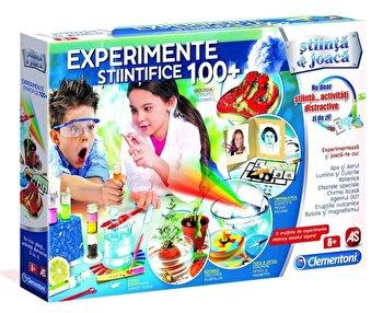 Stiinta si joaca – Set educativ 100 experimente stiintifice de la Clementoni