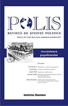 Polis. Ascensiunea populismului/***