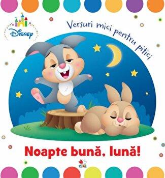 Disney Baby. Noapte buna, luna! Versuri mici pentru pitici/Disney de la Litera