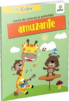 Carte de colorat si activitati amuzante/*** de la Gama Junior