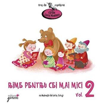 Rime pentru cei mai mici, Vol. 2/Lucia Muntean de la Genesis