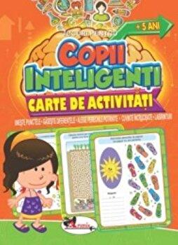 Jocuri pentru copii inteligenti. Carte de activitati +5 ani/*** de la Aramis