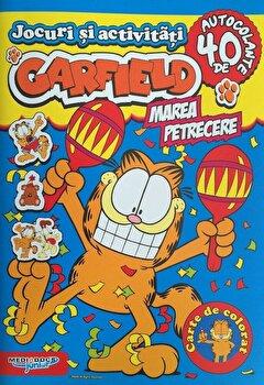 Garfield - Marea petrecere. 40 de autocolante/***