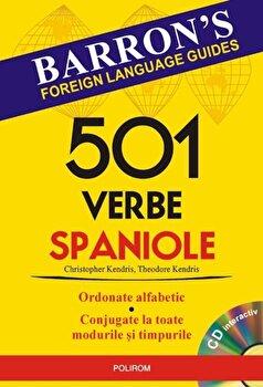 501 verbe spaniole (Contine CD)/Christopher Kendris, Theodore Kendris de la Polirom