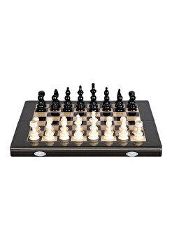 Joc Sah & Table, 32 cm, negru de la Medias