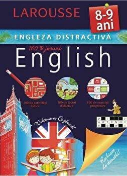 Larousse. Engleza distractiva 8-9 ani/***