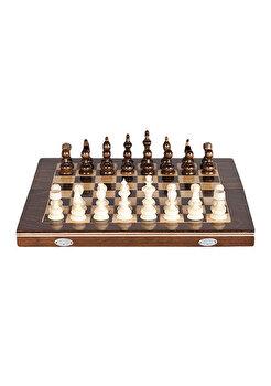 Joc Sah & Table, 32 cm, maro de la Medias