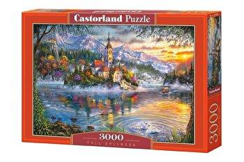 Puzzle Frumusetea Toamnei, 3000 piese de la Castorland