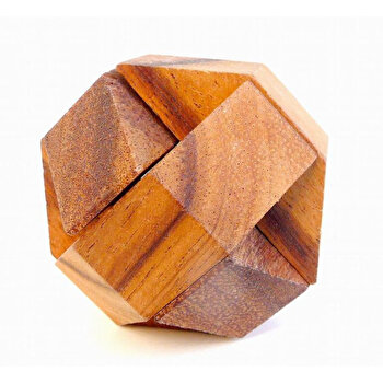 Puzzle din lemn Hexagon – Leonardo da Vinci de la Logica Giochi