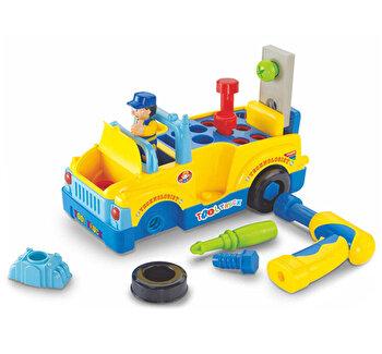 Jucarie interactiva camionul cu unelte Hola Toys de la Hola Toys