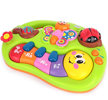 Pianul animalutelor Hola Toys de la Hola Toys