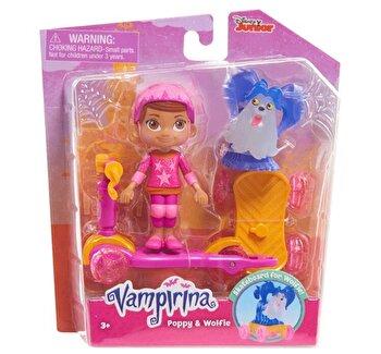 Vampirina – Set Poppy si Lupi cu trotineta de la Disney