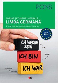 Forme si timpuri verbale. Limba germana. Nivel A1-B2/*** de la Litera