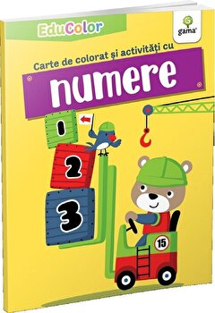 Carte de colorat si activitati cu numere/***