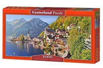 Puzzle Hallstatt – Austria, 4000 piese de la Castorland