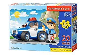 Puzzle maxi Patrula de politie, 20 piese