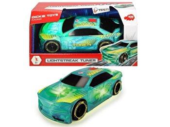 Racing – Vehicul de curse, cu lumini si sunete de la Dickie Toys