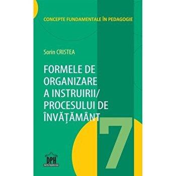 Formele de organizare a instruirii /procesului de invatamant, vol 7/Sorin Cristea de la DPH