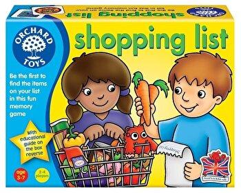 Joc educativ in limba engleza – Lista de cumparaturi, Shopping list de la Orchard Toys