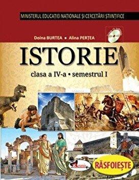 Istorie. Manual clasa a IV-a (partea I+II+CD)/Cleopatra Mihailescu, Tudora Pitila de la Aramis
