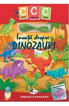 Invata despre dinozauri/Melissa Bull de la Aramis