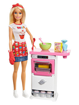 Papusa Barbie Bakery Chef de la Barbie