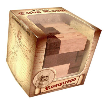 Puzzle din lemn Robot – Leonardo da Vinci de la Logica Giochi
