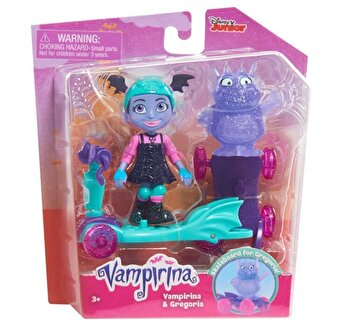 Vampirina – Set Vampirina si Gregoria cu trotineta de la Disney