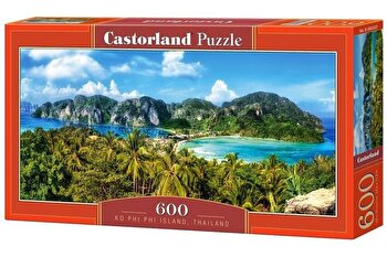 Puzzle panoramic Ko Phi Phi Island - Thailand, 600 piese