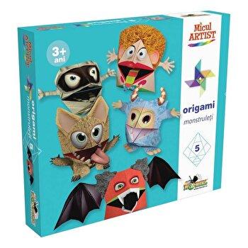 Joc creativ Micul Artist – Origami Monstruleti de la Micul Artist