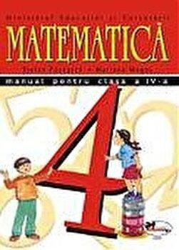 Matematica. Manual clasa a IV-a/Stefan Pacearca, Mariana Mogos de la Aramis