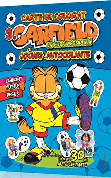 Garfield – Carte de colorat cu jocuri distractive, Vol. 3/*** de la Mediadocs Publishing