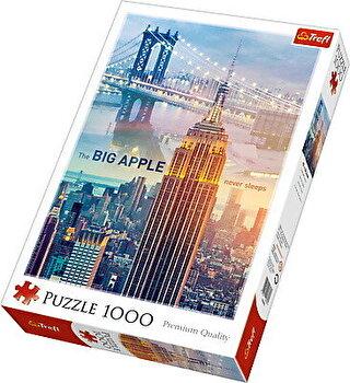 Puzzle Zori de zi la new York, 1000 piese de la Trefl