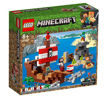LEGO Minecraft, Aventura corabiei de pirati 21152 de la LEGO