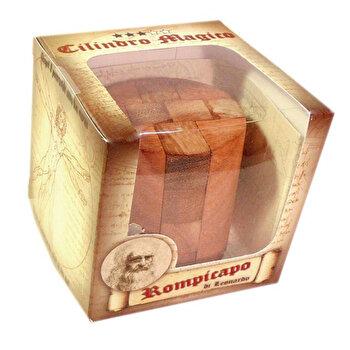 Puzzle din lemn – Magic Cylinder – Leonardo da Vinci de la Logica Giochi