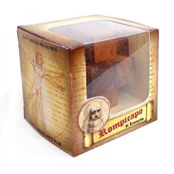 Puzzle din lemn Cross Roads – Leonardo da Vinci de la Logica Giochi